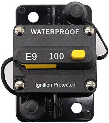 ST-ST 車のトラックRVマリーントレーラーのための50Aサーキットブレーカースイッチパネルインバーターハンドリセット 遮断器