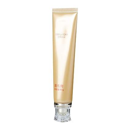 Crema depilatoria, utilizada para el brazo, la línea del ...