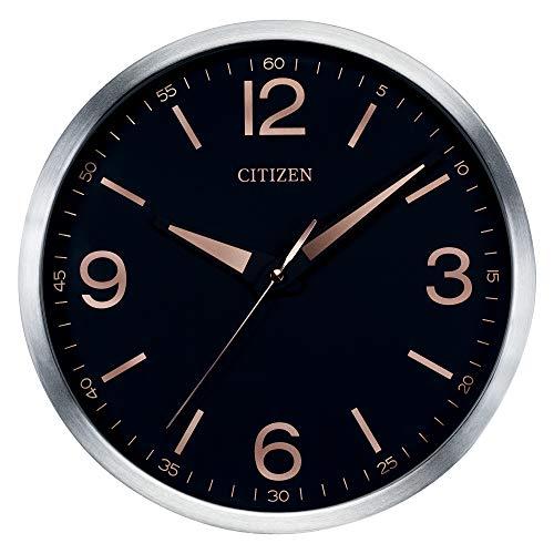 Citizen CC2002 Gallery Wall Clock, Black (Citizen Wall Clock)