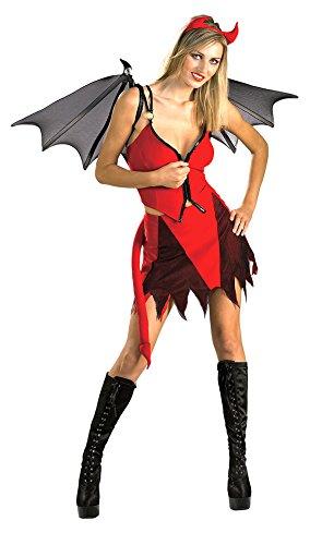 [Adult-Costume Devilicious Fairy Cost Sm Halloween Costume - Adult Small] (Sexy Halloween Cost)