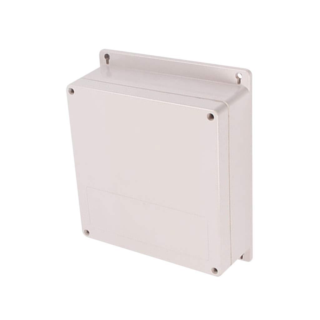 100x68x40mm Almencla IP66 ABS Geh/äuse Aus Wasserdichtem Kunststoffgeh/äuse Anschlusskasten 80 X 180 X 70 Mm