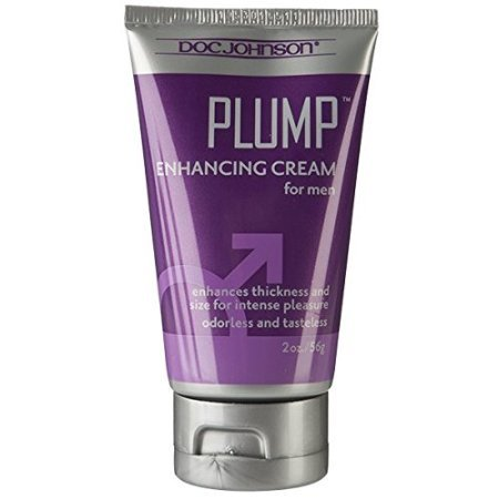 Doc Johnson Plump, Enhancement Cream for Men, 2-Ounce