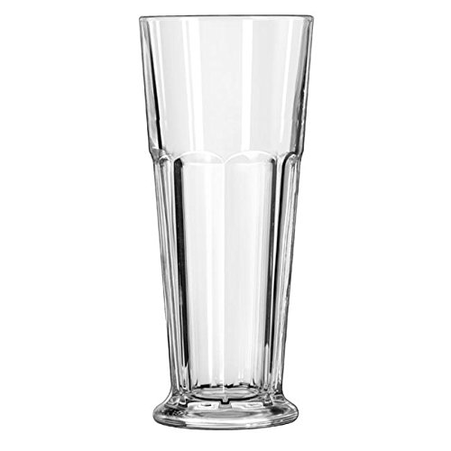 Libbey 15680 Footed Gibraltar 12 Ounce Pilsner Glass - 24...