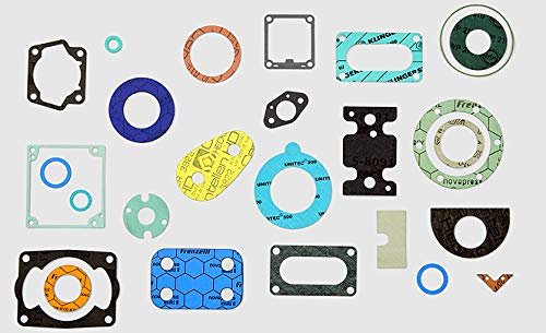 """Qty 10 gaskets 1//16 Thick NSF-61 Certified STCC 150 Class Flange CRG7001NSF.200.062.150x10 2/"""" Ring Gasket Inc. Sterling Seal /& Supply"""