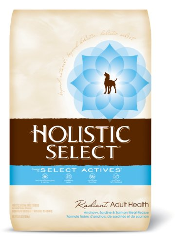 Holistic Select Radiant Adult Health Dry Dog Food, Anchovy, Sardine, and Salmon Meal Recipe, 30-Pound Bag, My Pet Supplies