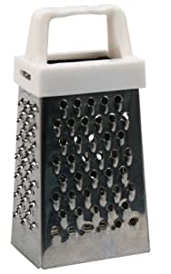 Stainless Steel Mini 4 Side Grater, 3 Inches