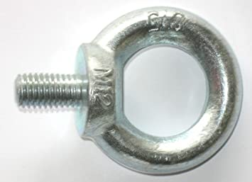 M6 Ringmutter Ringschraube Ringbolzen f/ür Industrie Hardware