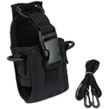 MuLuo MSC-20A Walkie Talkie Case Holster for GP328+ Wouxun KG-UV8D CB Radio BAOFENG UV-5R UV-5RE Plus UV-B5 UV-82
