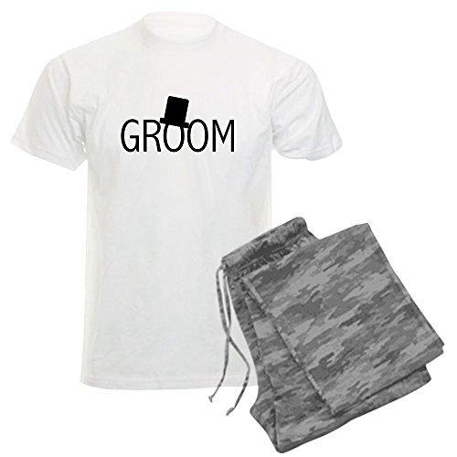 CafePress - Top Hat Groom - Unisex Novelty Cotton Pajama Set, Comfortable PJ Sleepwear