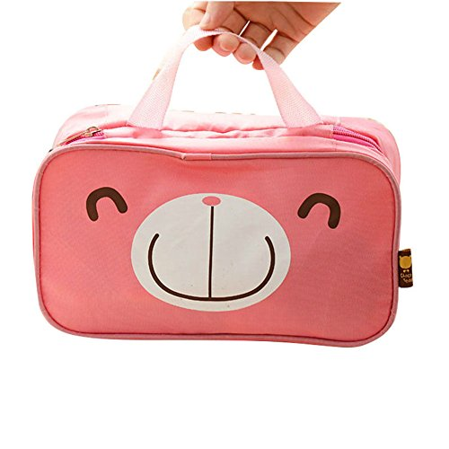 mk. park - New Portable Travel Organizer Cosmetic Makeup Bag Bra Underwear Wash Bag Pouch (4)