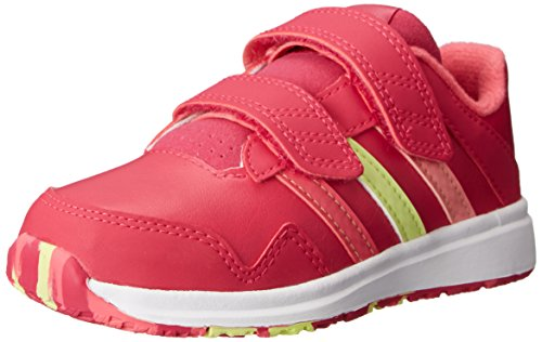 adidas Performance Snice 4 CF I Infant Shoe (Toddler), Bold Pink/Super Pink/Yellow, 5 M US Toddler (Adidas Baby Girl Infant)