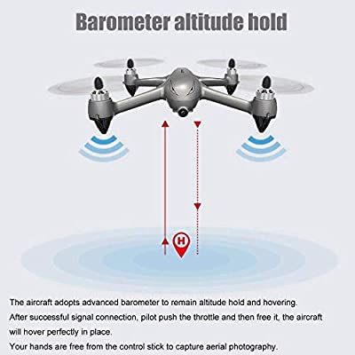 PinPle MJX Bugs 2 SE Drone with 1080P HD 5G WiFi Camera FPV Drone Remote Control Drone Long Range Drone with GPS Quadcopter Altitude Hold and Headless Mode, Return to Home,2 Battery