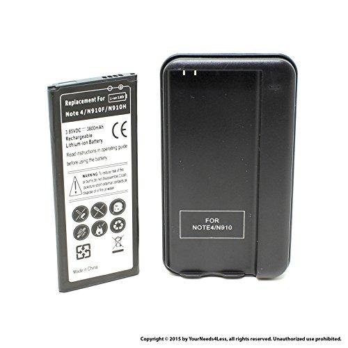YN4L® 3800mAh battery for Samsung Galaxy Note 4; N910; N910