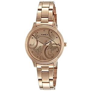Timex Fashion Analog Brown Dial Women's Watch – TW000T610