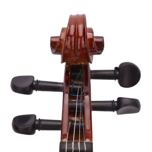 Lovinland 4/4 Acoustic Violin Natural Color Beginner Violin Full Size with Case Bow Rosin by Lovinland (Image #3)