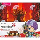 Maple Story Online Card Game : Behold Zakum Booster Box (24 Packs) [Toy]