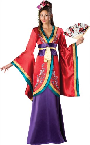Far East Empress Elite Adult Costume (As Shown;X-Large)