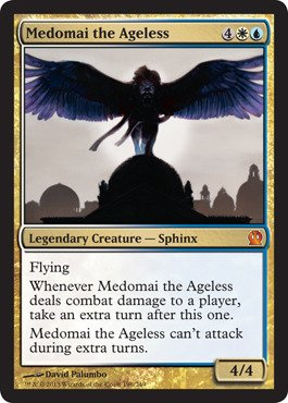 Free Magic: the Gathering - Medomai the Ageless - Theros