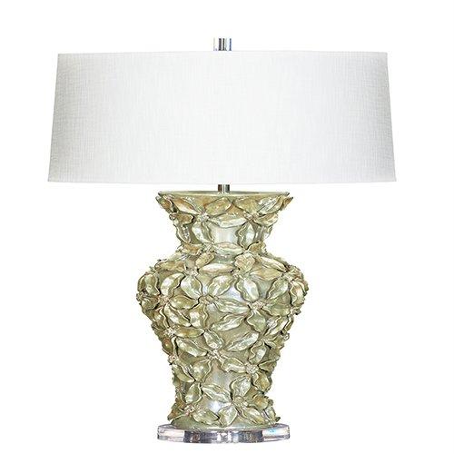 Bradburn Gallery Marchessa Green One-Light Table Lamp - Bradburn Lamps
