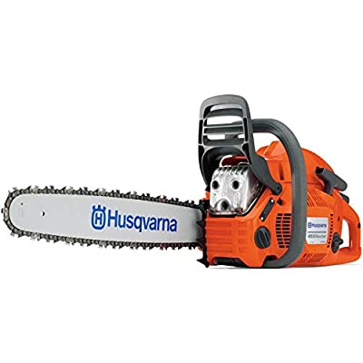 Husqvarna 455 Chainsaw X-Torq 55cc 18-Inch Bar Fast Start Low Vibration (965030292)