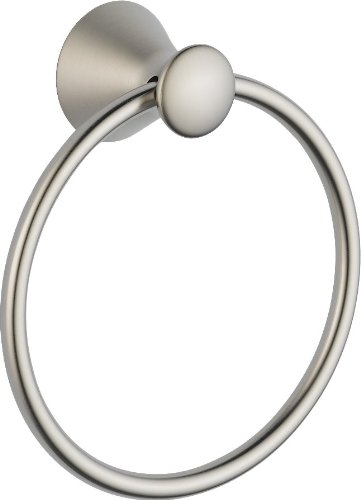 Stainless Steel Towel Ring Delta (Delta Faucet 73846-SS Towel Ring, Stainless)