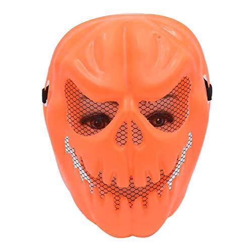 Pumpkin Morphmask - 7Queen Halloween Last Night Pumpkin Mask