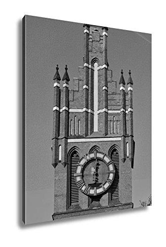 Ashley Canvas Church Of The Holy Family Kaliningrad Until 1946 Koenigsberg Russia, Wall Art Home Decor, Ready to Hang, Black/White, 20x16, AG5541379 by Ashley Canvas