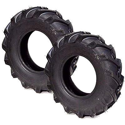 2PK New AG Lug 4.80-8 Troybilt Tiller Tires Replaces Carlisle Power Trac 5109501