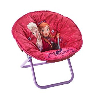 Disney Frozen Elsa & Anna Children's Saucer Chair by Disney