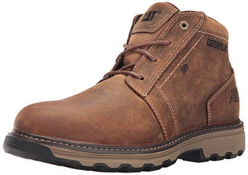 Caterpillar Men's Parker SD Industrial & Construction Shoe, Dark Beige, 11 M US