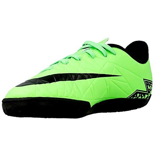 Nike Fútbol Jr Hypervenom Phelon Ii Ic Negro-Verde