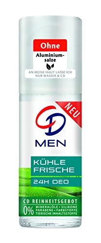 CD Deo Men Roll-On Kühle Frische, 6er Pack (6 x 50 ml)