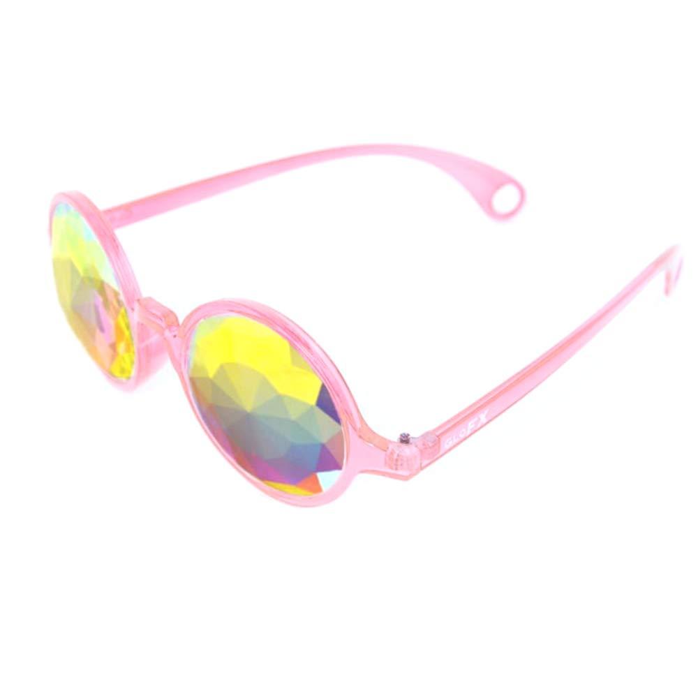 Amazon.com: GloFX Color Rosa Transparente Caleidoscopio ...