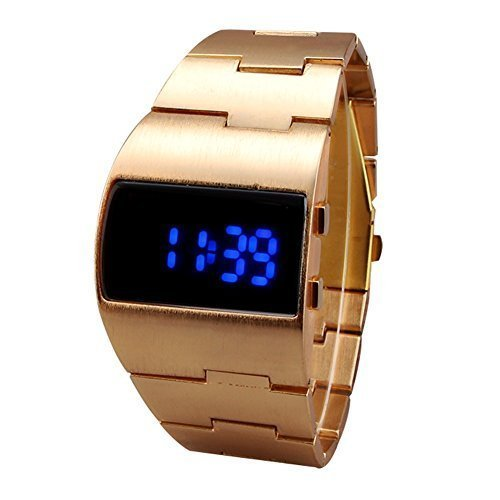 Stainless Rectangle Digital Fashion Watches product image