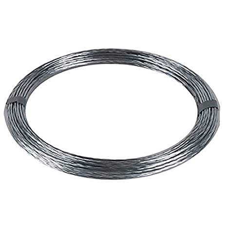 Twisted Wire Cable | Amazon Com 50 Ft Guy Wire Cable Twisted Steel 20 Awg 4 Strand Mast