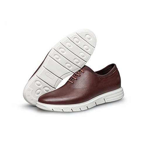 ZRO Men's Lace-Up Casual Fashion Sneakers Breathable Athletic Sports Shoes Brown discount explore fast delivery cheap price discount the cheapest clearance tumblr bucXT