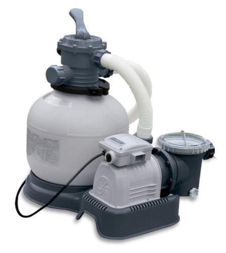 Intex Krystal Clear 2800 GPH Above Ground Pool Sand Filter Pump | 28647EG ()