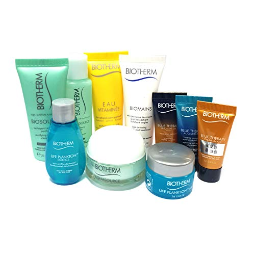 Biotherm Blue Therapy Skincare Travel Kit (10 items) (Biotherm Skin Best Set)