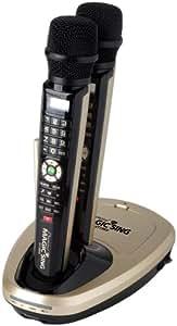 Entertech ET19K Magic Sing Mic Karaoke Machine 2 Wireless Microphone & 2045 Songs