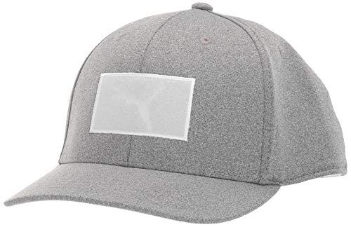 Puma Golf 2019 Men's Utility Patch Snapback Hat (One Size), Quarry (Best Golf Caps 2019)