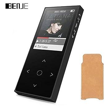 Nueva Benjie x1 pantalla táctil reproductor de mp3 fm radio Record ...
