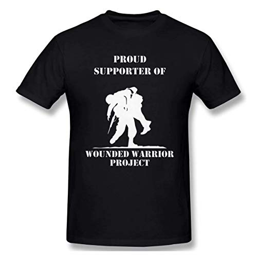 Lzeasiea Wounded Warrior Project Men's Classic T-Shirt Black