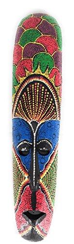 Colorful Tribal Tiki Mask 20
