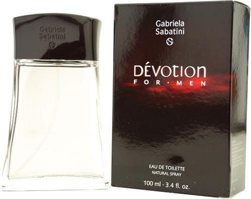 Devotion By Gabriela Sabatini For Men, Eau De Toilette Spray, 3.4-Ounce Bottle