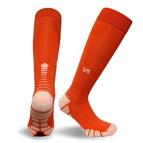 Vitalsox Italy-Patented Compression VT1211,X-Small,Orange