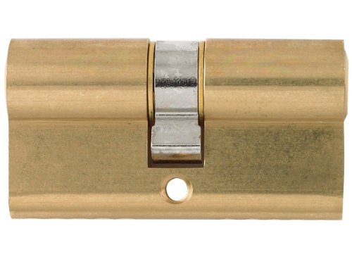 Yale Locks X6 Kitemarked Euro Double Profile Cylinder 35 x 35 (80 mm) Nickle Plated Visi by Yale by Yale (Image #1)