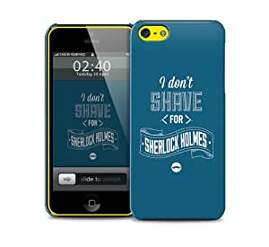 shave sherlock iPhone 5c protective phone case