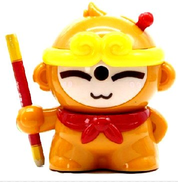 [L · T · P] Pencil Sharpener Goku Monkey King For Kids,Home, Office, (Red) (Goku Children)