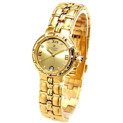 Oskar Emil Casablanca 304L Womens 23ct Gold Plated Watch