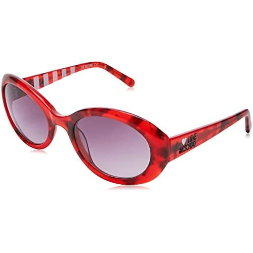 a40d7e66b0 Moschino MO-L-504S-03 Gafas de sol, Red, 53 80% OFF - www ...